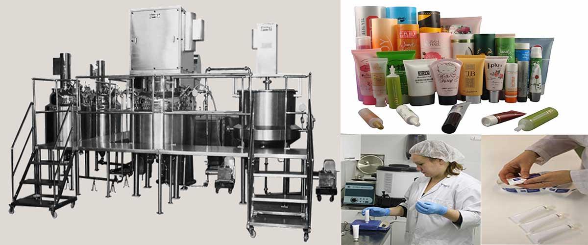 Cosmetics & Toiletries Industry Machine